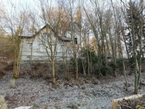 Vila Stein v zimě